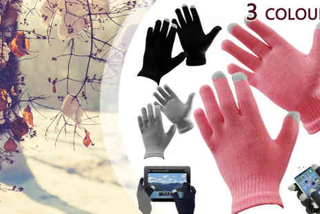 HK Betty Technology Co - Pink Touch Screen Magic Gloves - Save 78%