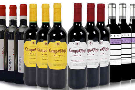 San Jamon - Ruby Red Collection of 12 Bottles - Save 60%