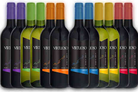 karpedeal - Selection of 12 Bottles of Mixed Spanish Wine - Save 56%