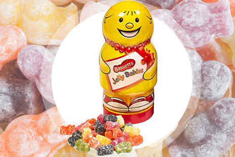 Ultimate Gift Packs - Bassetts Jelly Babies Novelty Jar 570g - Save 20%