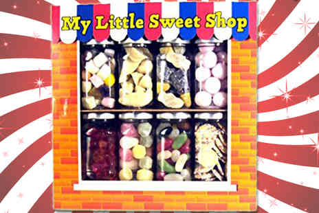 Ultimate Gift Packs - My Little Sweet Shop Gift Set 8 Jars of Sweets in a Gift Box - Save 0%