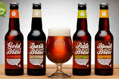 Brewhive - Set Of 12 Craft Beers Perfect For Summer - Save 62%