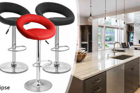 lolbargain limited - Red H 312 Eclipse Bar Stool 2pc - Save 53%