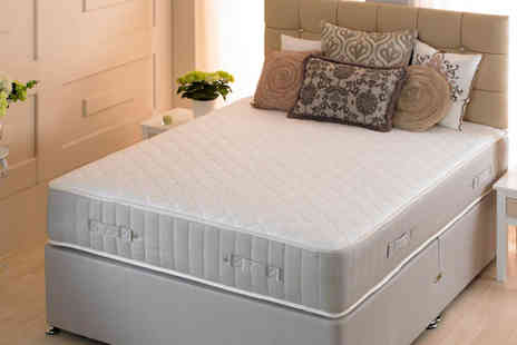 Sir Sleep A Lot - 3ft Single Fenton Ortho Quilted Memory Sprung Mattress - Save 85%