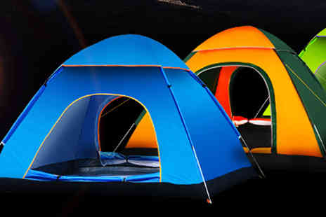 HK J and Y International Trading - Instant Three Man Pop Up Tent - Save 69%