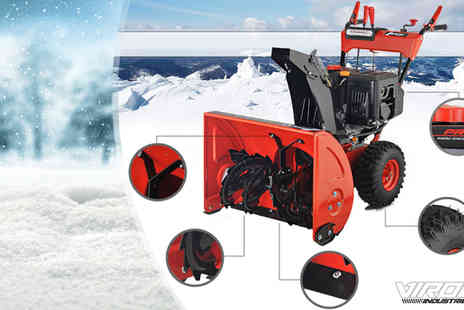 EveMotion GmbH - Viron Petrol Snowblower With Electric Starter - Save 58%