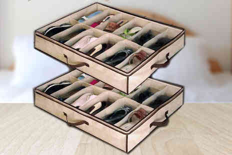 Gagala - 1 X Under Bed Shoe Storage - Save 60%