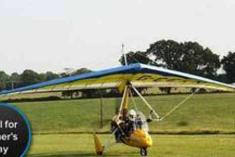 GS Aviation - One hour microlight flying experience - Save 50%