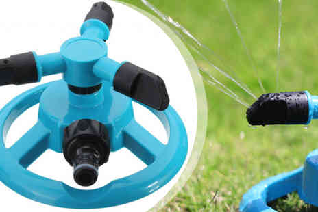 HK Betty Technology Co - 360 Rotating Nozzle Water Sprinkler - Save 75%