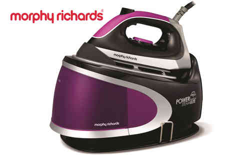 Giddy Aunt - Morphy Richards 2400W Pressurised Steam Generator - Save 70%