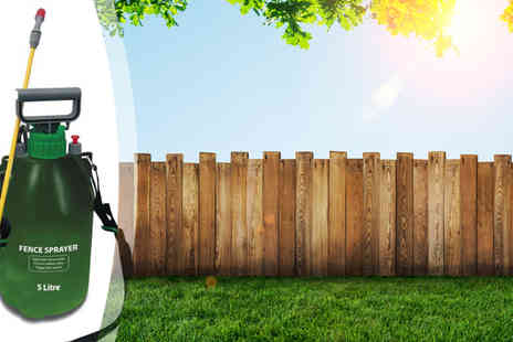 ToolCollection - 5L High Pressure Fence & Weed Sprayer - Save 77%