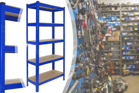 Mscomputers - 1.8M Heavy Duty Five Tier Racking Unit - Save 86%