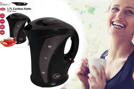 Zenith Wholesale - Quest 1.7L 2200W Cordless Kettle - Save 63%