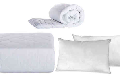 One Holding - Duvet, Pillow And Protector Set 3ft single - Save 56%