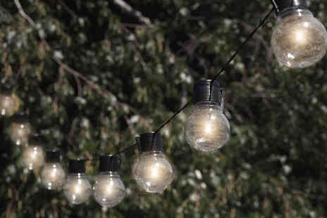 Gagala - Cold White solar powered String Light Bulbs - Save 55%