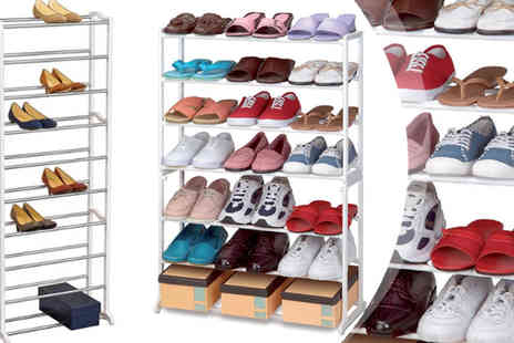 Zenith Wholesale - Seven tier shoe rack - Save 85%
