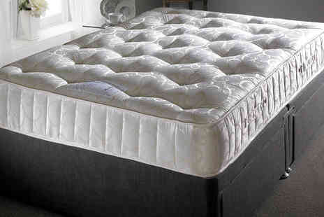 One Holding North - Sapphire 3000 Pocket Sprung Mattress 3ft Single - Save 79%