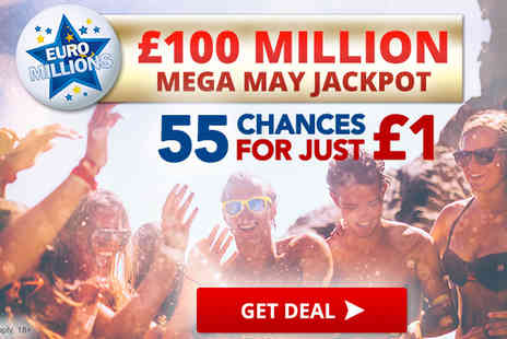 World Lottery Club - Play £1 & Get 55 Chances To Win £100 Million - Save 0%