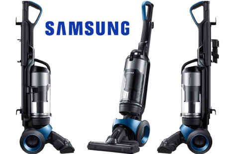 Ultimo Electronics - Samsung VU4000 Motion Sync Bagless HEPA Upright Vacuum - Save 68%