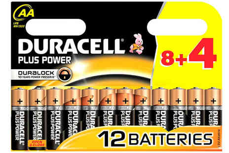 Zenith Wholesale - 12 Duracell Plus Power Batteries - Save 64%
