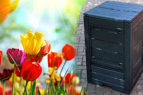 Funky Buys - 260L Eco Compost Bin - Save 72%