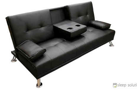 One Holding - Cinema Cup Holder Sofa Black - Save 69%