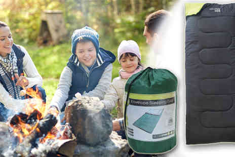 Electronics and Gadgets Direct - Yellowstone Envelope Sleeping Bag & Carry Bag - Save 47%