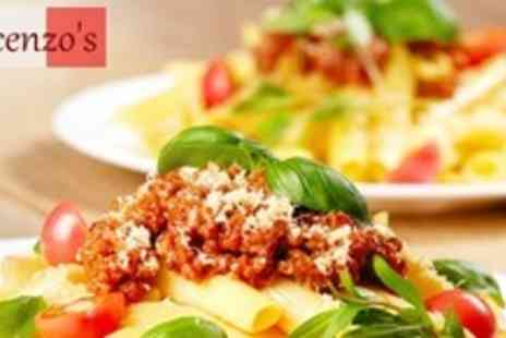 Cafe Vincenzos - Two Course Italian Meal and Wine For Four - Save 63%