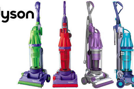 K & D Appliance Services - Dyson DC07 Bagless Cyclonic Upright Vacuum Red Purple - Save 49%