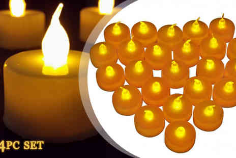 HK Betty Technology - 24 Piece LED Flameless Candles - Save 78%