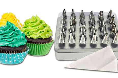 Vivo Technologies - 24pc Cake Icing Kit with Bits - Save 91%