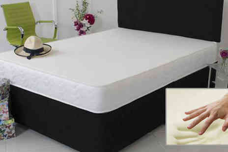 Sir Sleep A Lot - 2ft6 Extra Thick Comfort Memory Foam Mattress - Save 92%