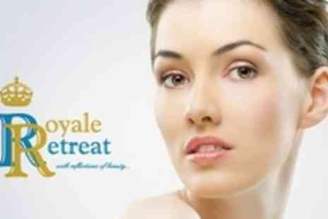 Royale Retreat - Three Sessions of Facial Thread Vein Treatment on Two Areas - Save 67%