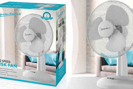 Giddy Aunt - Nine inch Desk Fan - Save 56%