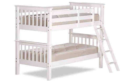 Amani International - Oxford Solid Pine Bunk Bed - Save 65%