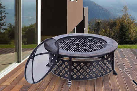 MHStar Uk - Luxury Fire Pit BBQ - Save 50%