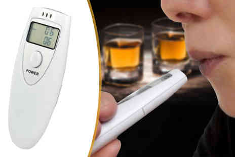 Boom Deals - Mini LCD Breathalyzer - Save 85%