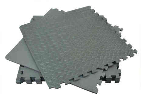 RS Communications - 48 Sq Ft Interlocking Eva Foam Mats - Save 47%