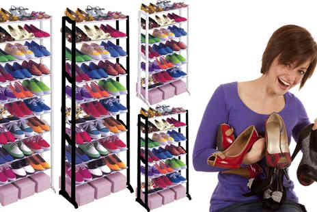 AKJ Enterpises - Seven Tier Shoe Rack - Save 68%