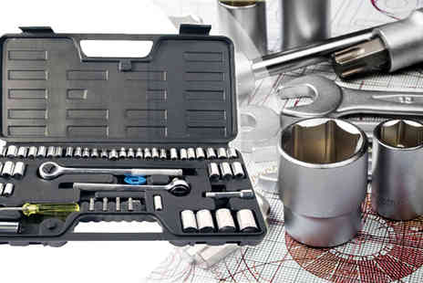 ToolCollection - 52PC Socket Set - Save 64%