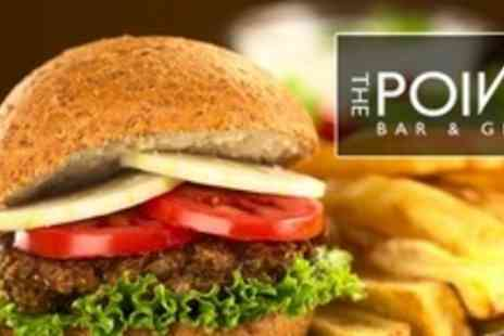 The Point Bar and Grill - Gourmet Beef Burgers For Two People - Save 50%