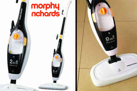 Giddy Aunt - Morphy Richards Nine In One Steam Cleaner - Save 54%
