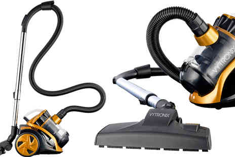 A P Taylor - 1400W Compact Cyclonic Bagless Cylinder Vacuum Cleaner - Save 56%