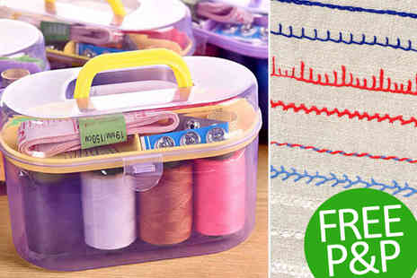 Gagala - Portable Sewing Kit Free P&P - Save 87%