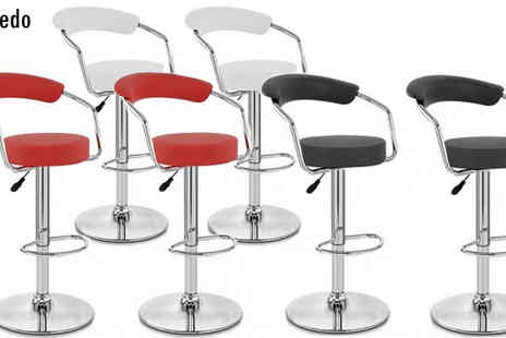 lolbargain - Red H 319 Toledo Bar Stool 2pc - Save 53%