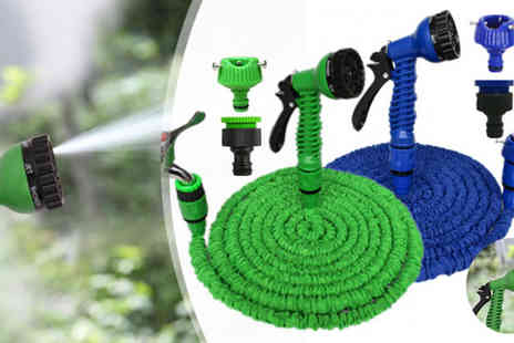 HK Betty Technology Co - Green 25ft Hose Pipe With Spray Gun - Save 86%