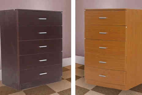 lolbargain - Maple Five Draw Chest of Drawers - Save 72%