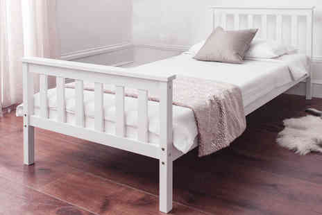 lolbargain - Single Bed Frame Inc Mattress - Save 64%