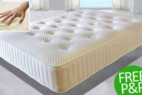 Sir Sleep A Lot - Single Ultimate Freshness 4000 Mattress - Save 87%