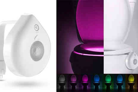 Gagala - Motion Activated LED Toilet Nightlight - Save 56%